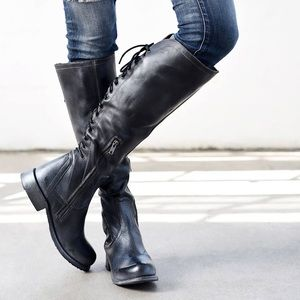 Bed Stu Surrey Tall Lace Up Boots